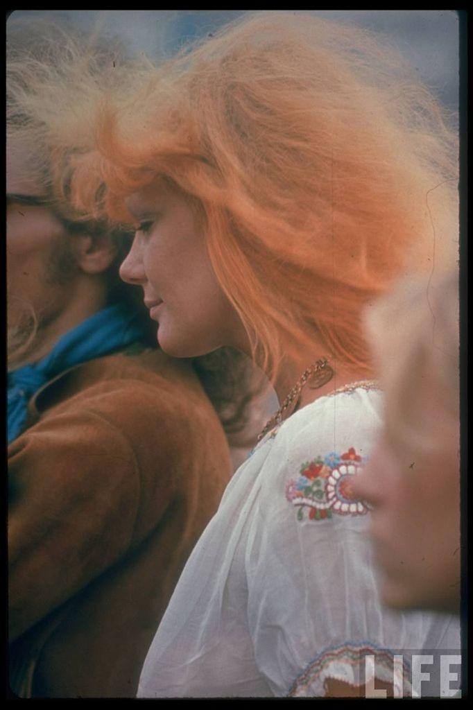 0 4143a  Вудсток 1969 года на снимках журнала Life