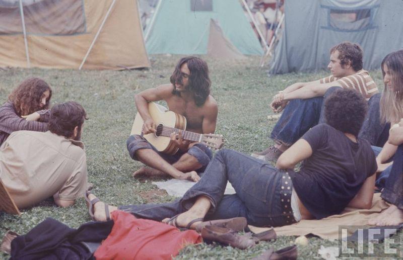 0 41445  Вудсток 1969 года на снимках журнала Life