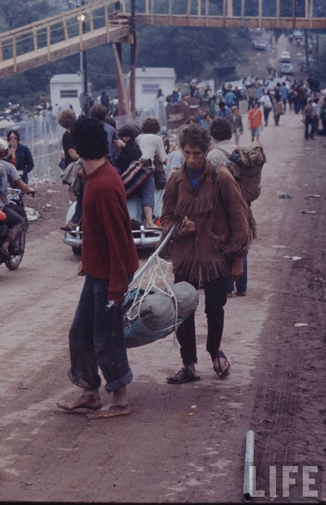 0 41446  Вудсток 1969 года на снимках журнала Life