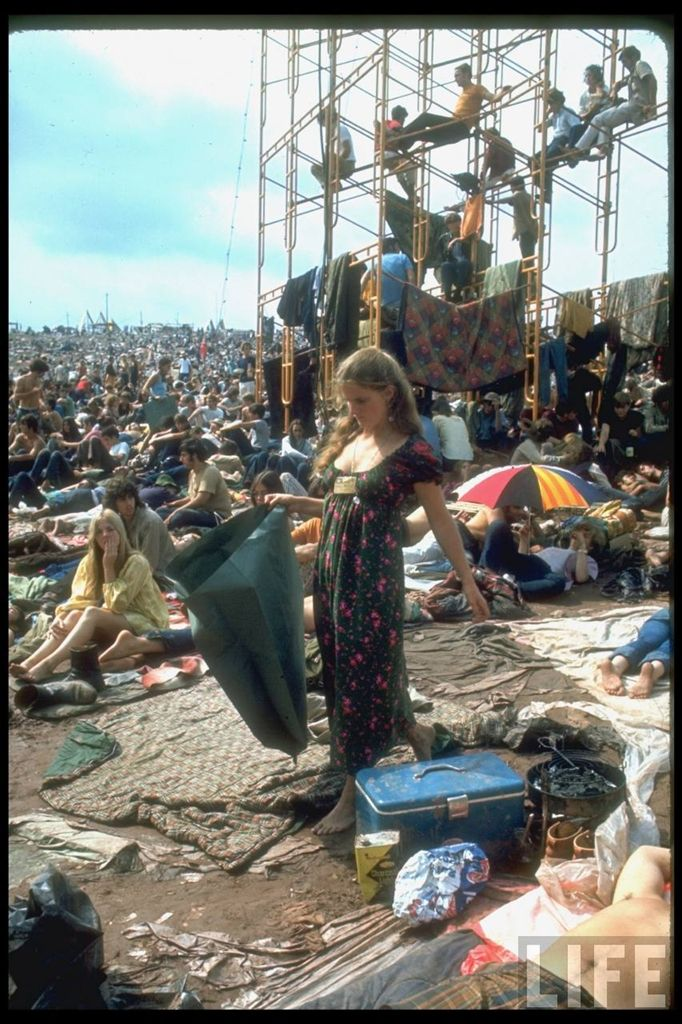 0 4144f  Вудсток 1969 года на снимках журнала Life