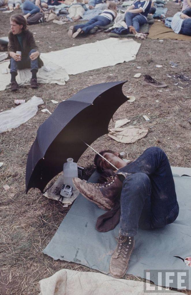 0 4145b  Вудсток 1969 года на снимках журнала Life