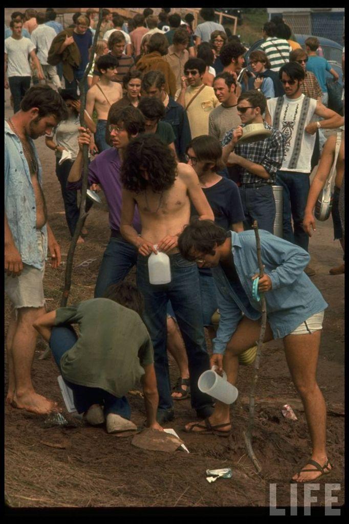 0 4146b  Вудсток 1969 года на снимках журнала Life