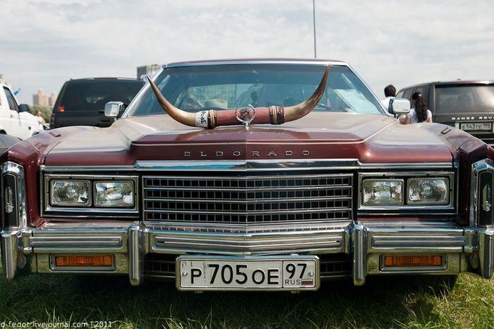 Фотоотчет с автовыставки Автоэкзотика-2011 (76 фото)