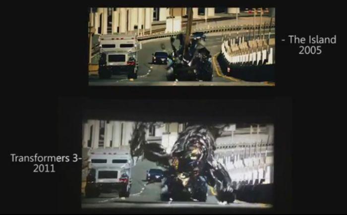"""""""Трансформеры 3"""" и """"Остров"""" одна сцена на два фильма (1 фото + 1 гифка + видео)"""