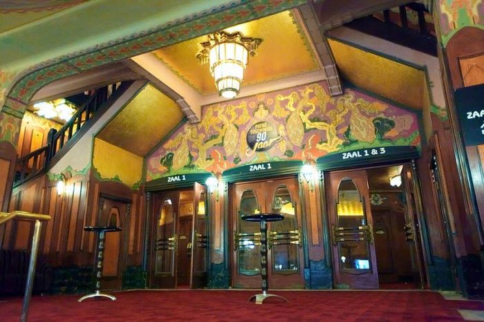 Кинотеатр «Тушинский» (Tuschinski) Амстердам (13 фото)