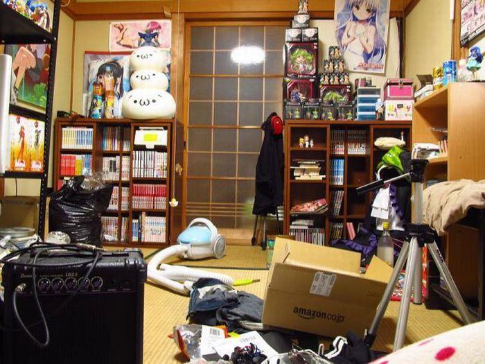 Комнаты японских обитателей (59 фото)