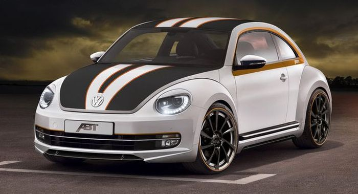 Новый Volkswagen Beetle от ABT Sportsline (4 фото)