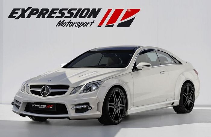 Mercedes E-Class Coupe от ателье Expression Motorsport (5 фото)