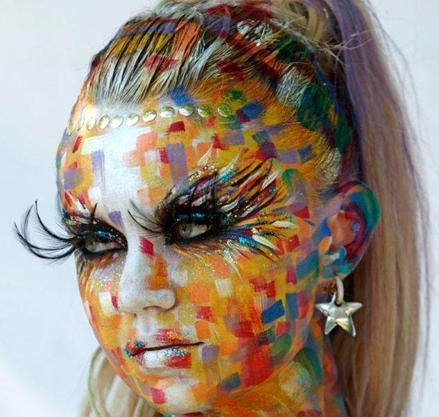 Всемирный фестиваль боди-арта 2011 (24 фото)