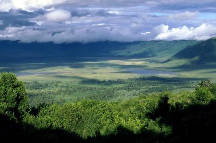 Кратер Нгоронгоро в Танзании (11 Фото)