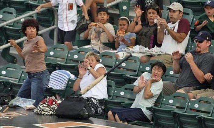 Такой опасный бейсбол (21 фото)