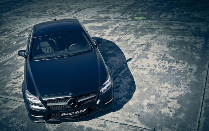 Mercedes CLS Edition Black от ателье Kicherer (8 фото)