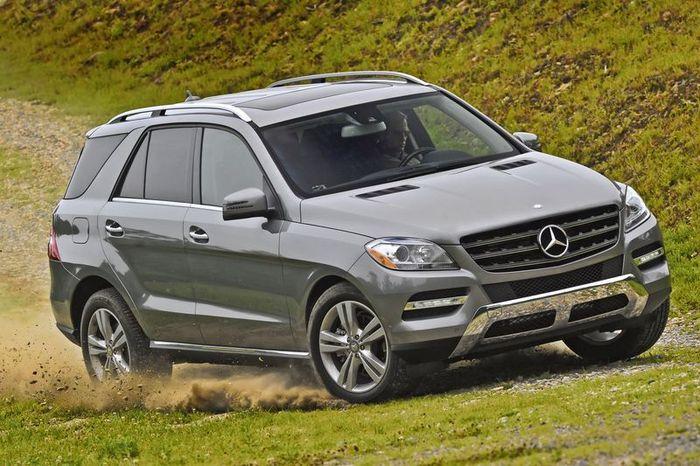Первые фото нового Mercedes-Benz M Class 2012 (52 фото)