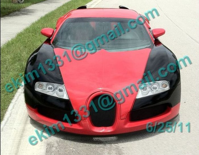 Cougatti Vercuryon - реплика Bugatti Veyron из Mercury Cougar (17 фото)