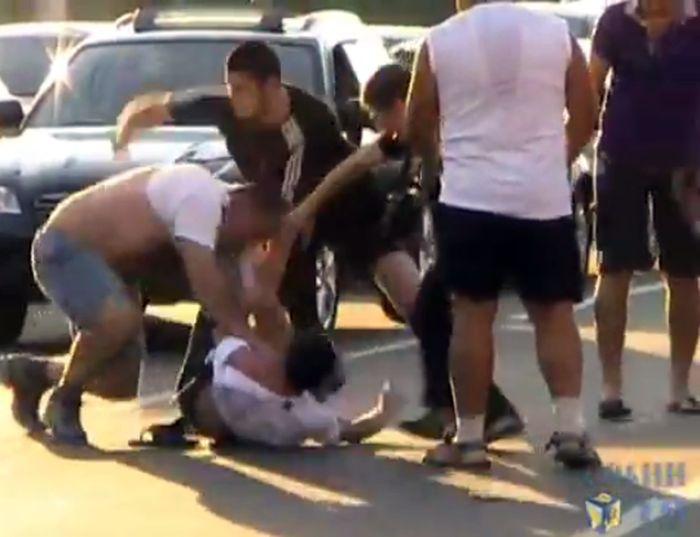 Протест в Химках закончился массовым побоищем (видео)