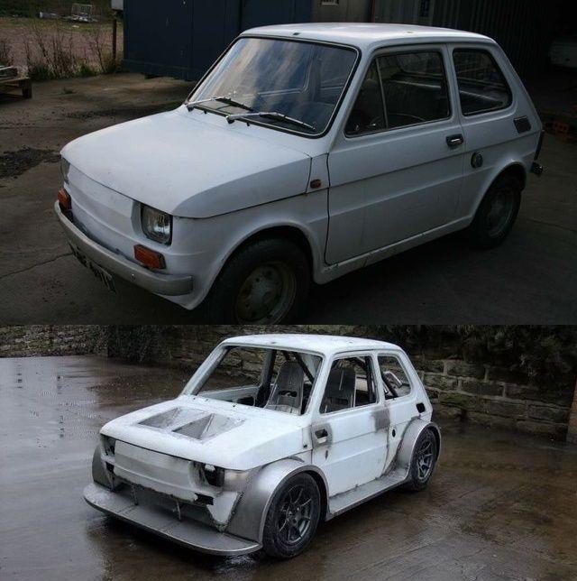Fiat 126 70-х годов зарядили до 330 л.с. (13 фото)