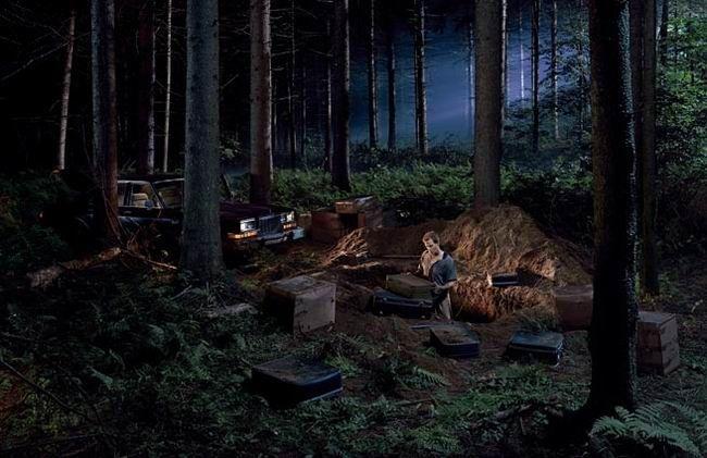 Gregory Crewdson: Кинофильмы длиной в один кадр (35 фото)
