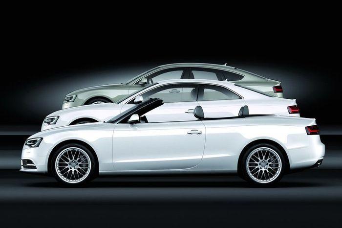 Все семейство Audi A5 подверглось обновлению (120 фото)