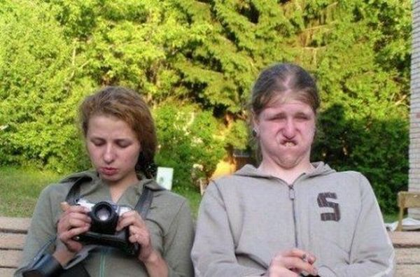 Смешные женщины (25 фото)