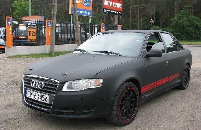 Audi 100 1991г.в. превратилась в Audi А4 2008г.в. (10 фото)