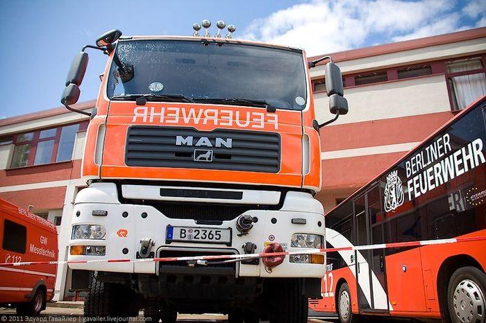 В берлинской пожарной части (46 фото)