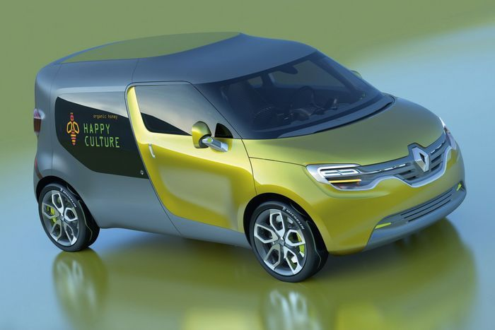 Компания Renault рассекретила концепт-кар Frendzy (12 фото+видео)