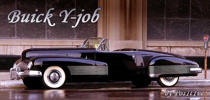Buick Y-job 1938 года (6 фото)