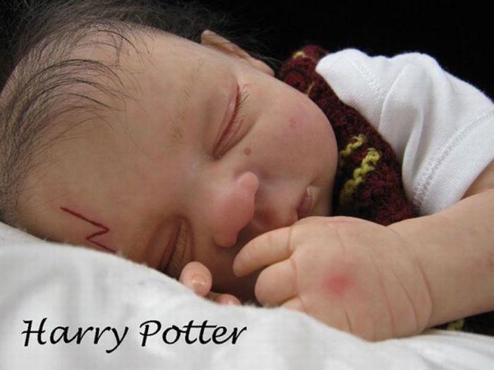 """Куклы для фанатов фильма """"Гарри Поттер"""" (11 фото)"""