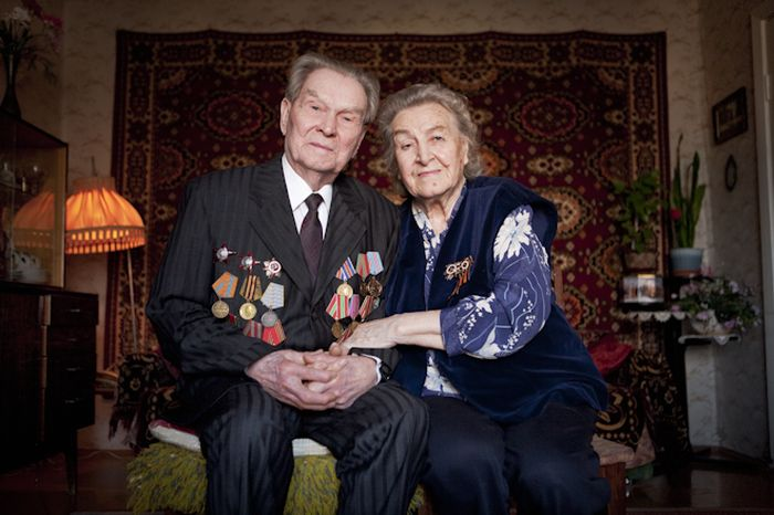 Лица победителей. Ветераны Второй Мировой Войны. (36 фото)