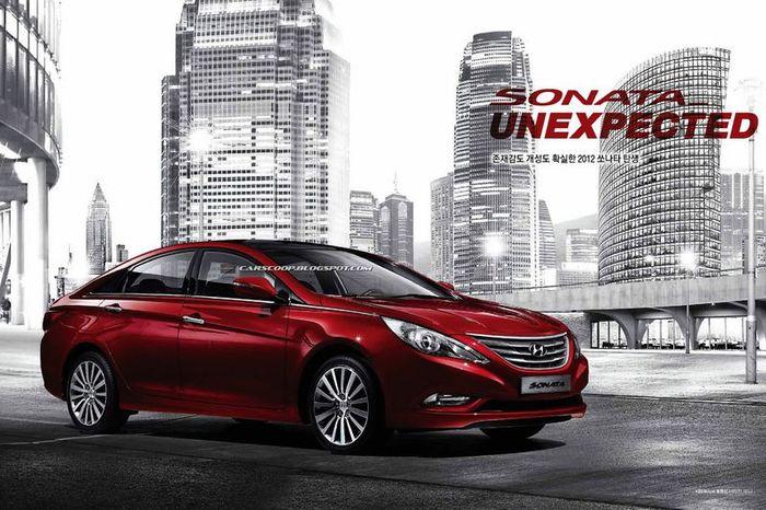 В компании Hyundai обновили модель Sonata (24 фото)