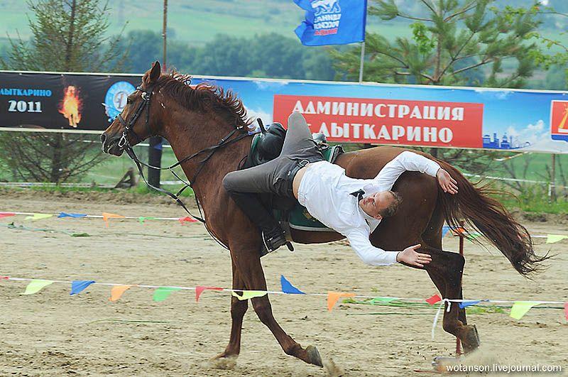 Чемпионат России по джигитовке