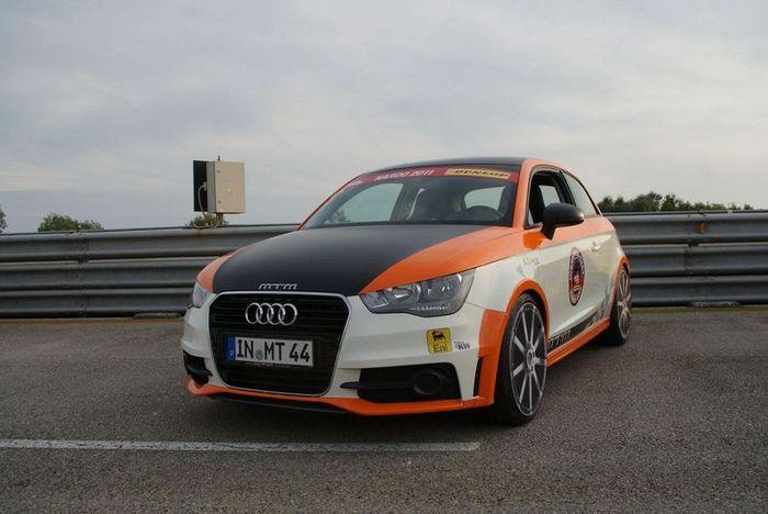 Audi A1 Nardo Edition разогнался до 324 км/ч (7 фото)