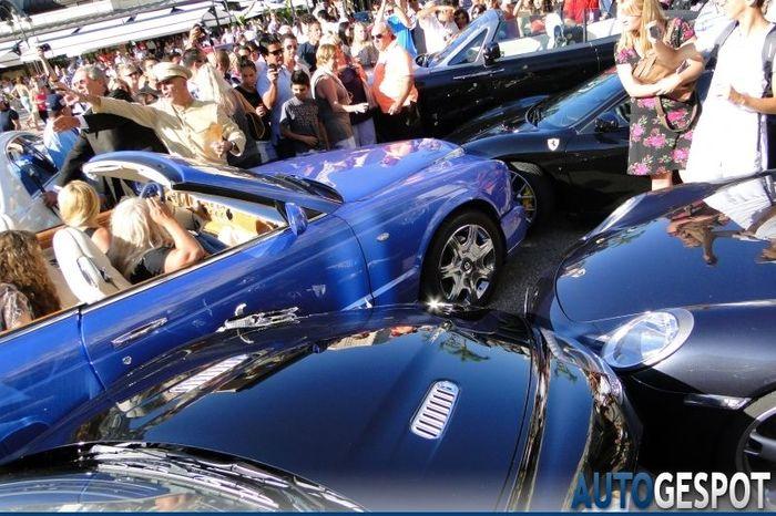 очень дорогая авария в Монако (5 фото)