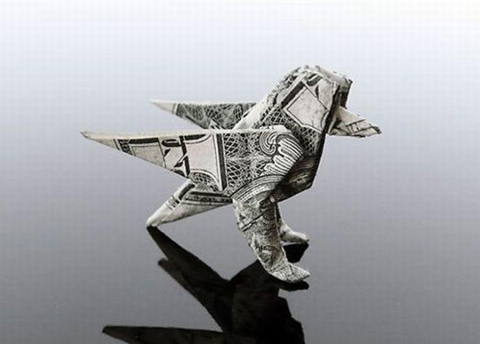 Оригами из денег (36 фото)