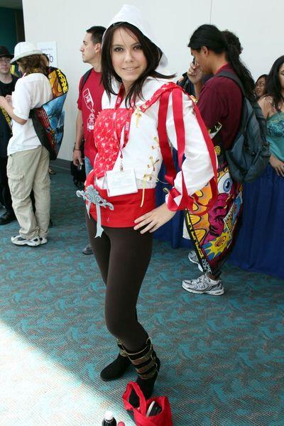 Очаровательные участницы международного фестиваля Comic-Con 2011 (21 Фото)