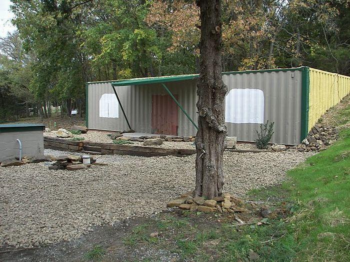 Дом из контейнера (134 фото)