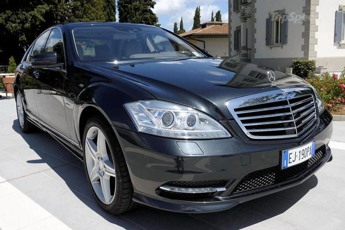 Mercedes-Benz S-Class Grand Edition (40 фото)