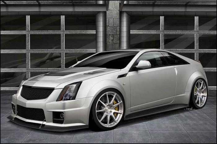 1000-сильный Cadillac CTS-V Coupe (2 фото)