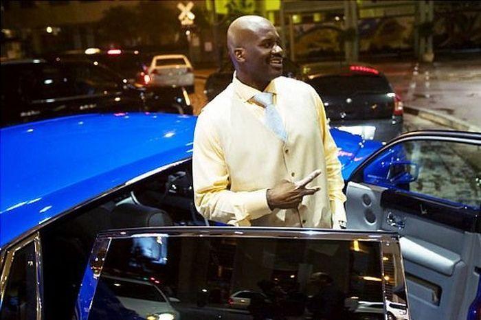 Автомобили знаменитых баскетболистов (56 фото)