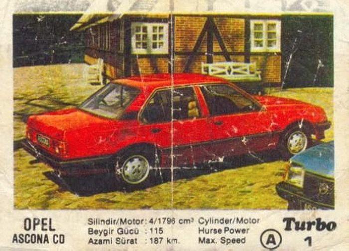 Полная коллекция вкладышей Turbo (100 фото)