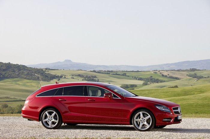Официальные фото нового Mercedes CLS Shooting Brake (89 фото+видео)