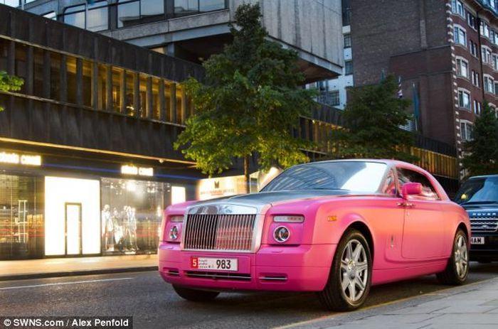 На чём ездят арабы в Лондоне (10 фото)