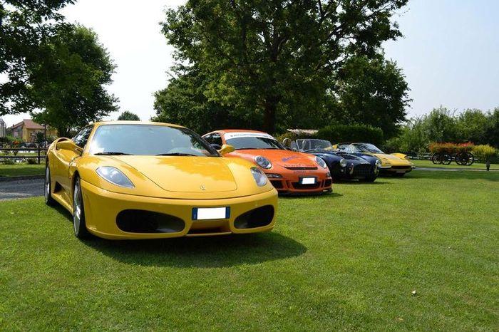 Вечеринка Cars & Coffee в солнечной Италии (77 фото)