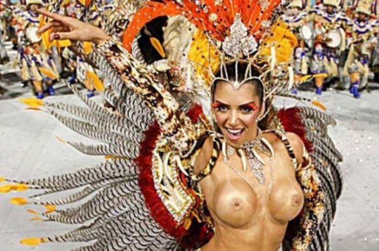 Рио карнавал голые девушки