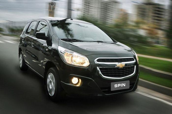 Spin - новый компактвен от компании Chevrolet (22 фото+видео)
