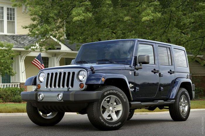 Компания Jeep показала модель Wrangler Freedom Edition (11 фото)