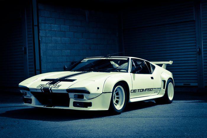 История спортивных автомобилей De Tomaso Pantera (41 фото+3 видео)