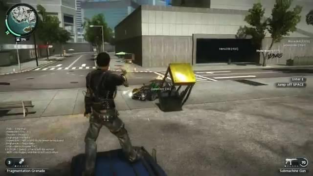 Видео Just Cause 2 – мультиплеерная война (видео)