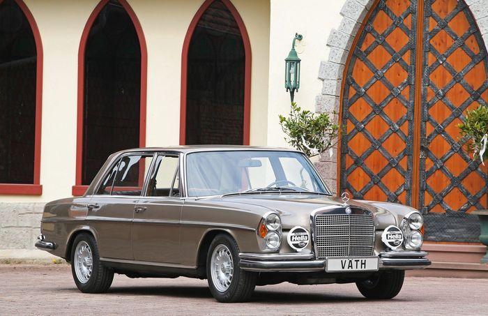 Немецкое ателье Väth отреставрировало Mercedes-Benz 300 SEL 6.3 в W109 кузове (15 фото)