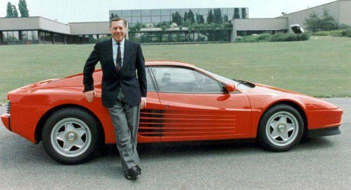 Умер автомобильный дизайнер Серджио Пининфарина (10 фото)